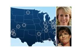Sarah Palin targets liberal democrats